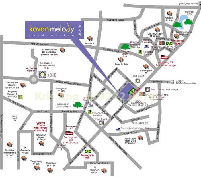 Kovan Melody Location